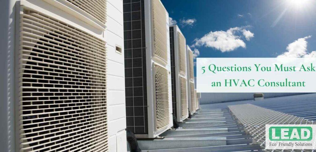 HVAC consultant in Bangalore